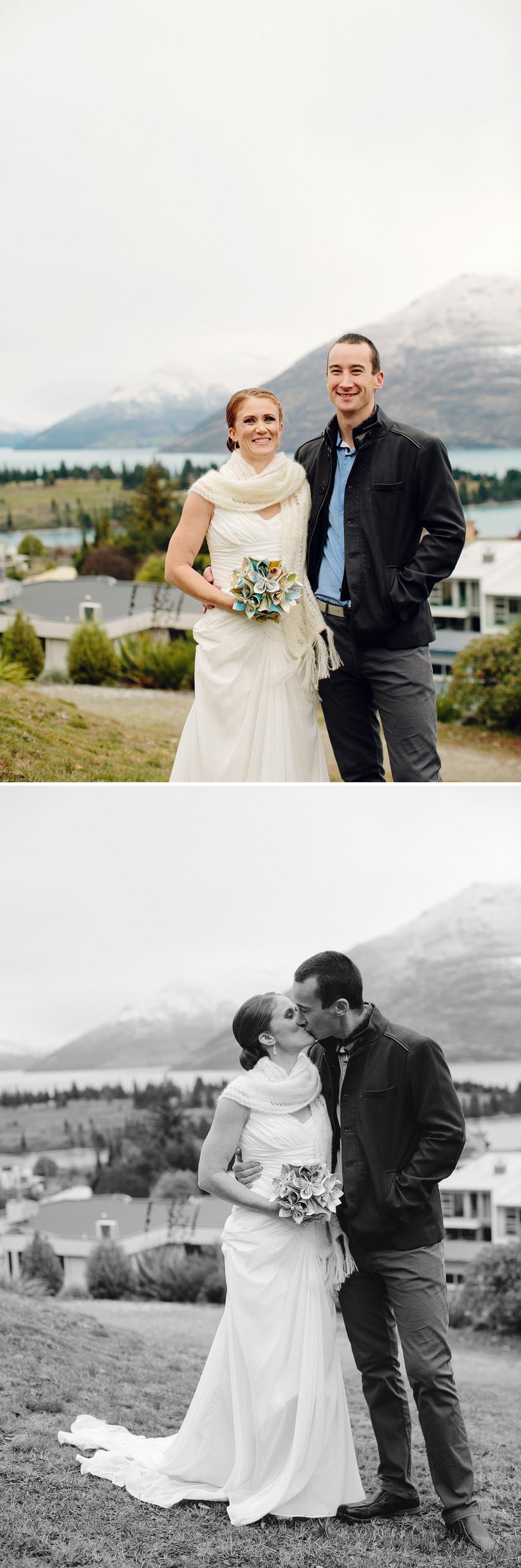 Queenstown Wedding Photography: Bride & Groom portraits