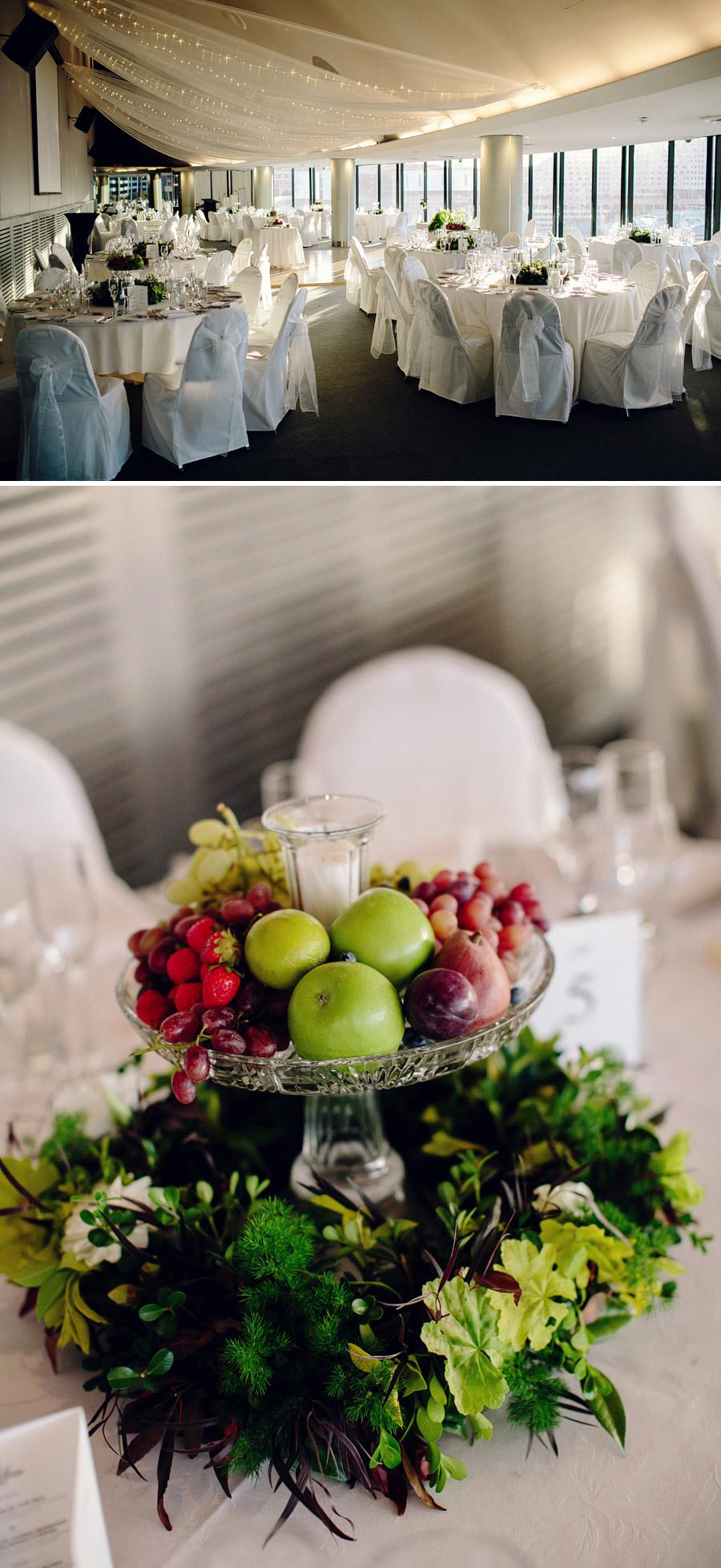 Star Room Wedding Photographer: Reception Details
