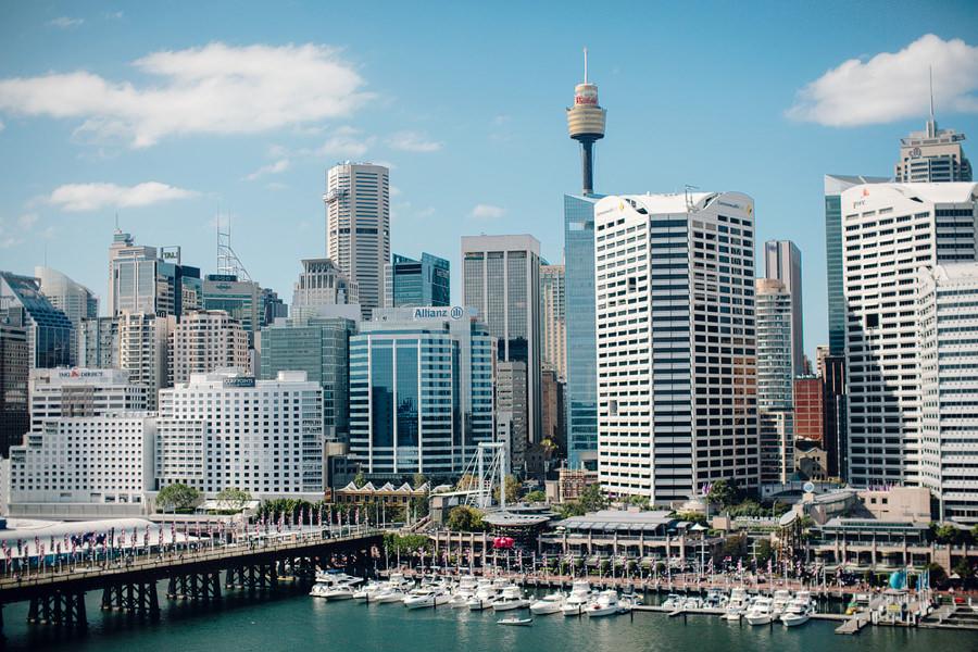 Sydney Wedding Photographers: Skyline