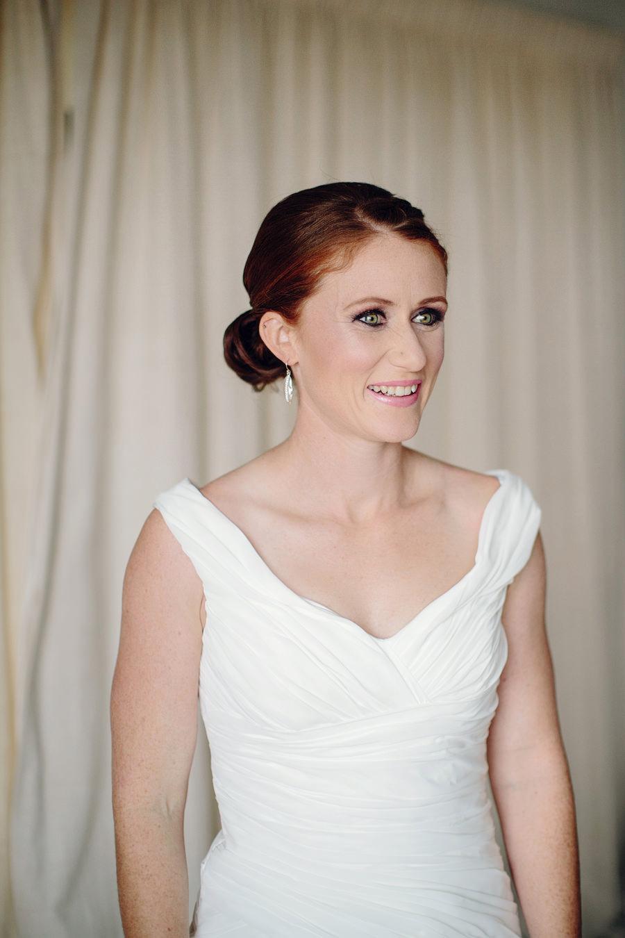 Winter Wedding Photography: Bride getting ready