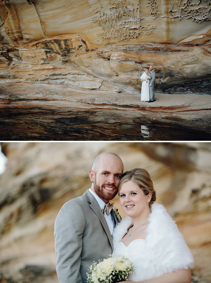 La Perouse Wedding Photographer: Bride & Groom Portraits