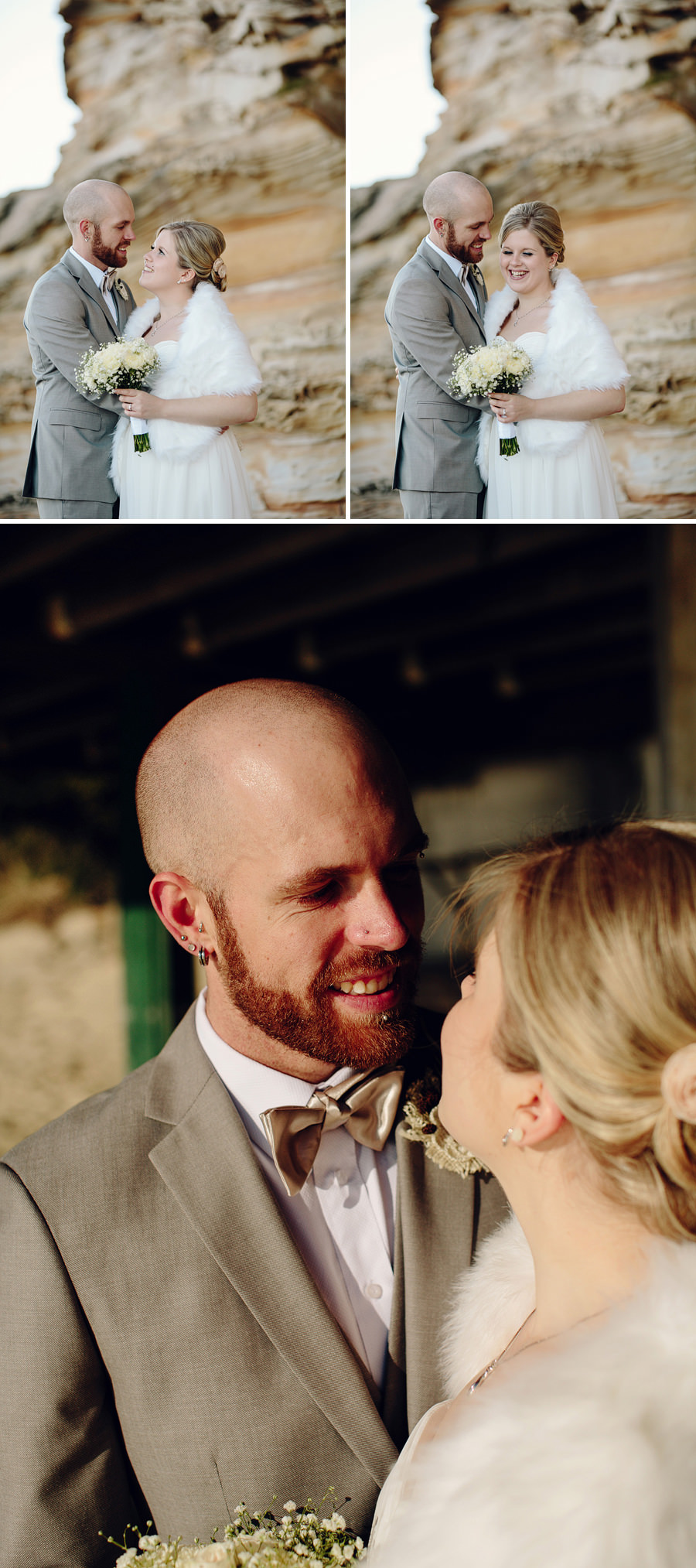 La Perouse Wedding Photographers: Bride & Groom Portraits