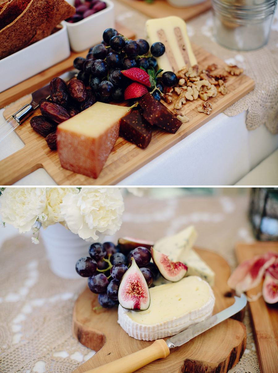 Relaxed Wedding Photography: Canapes