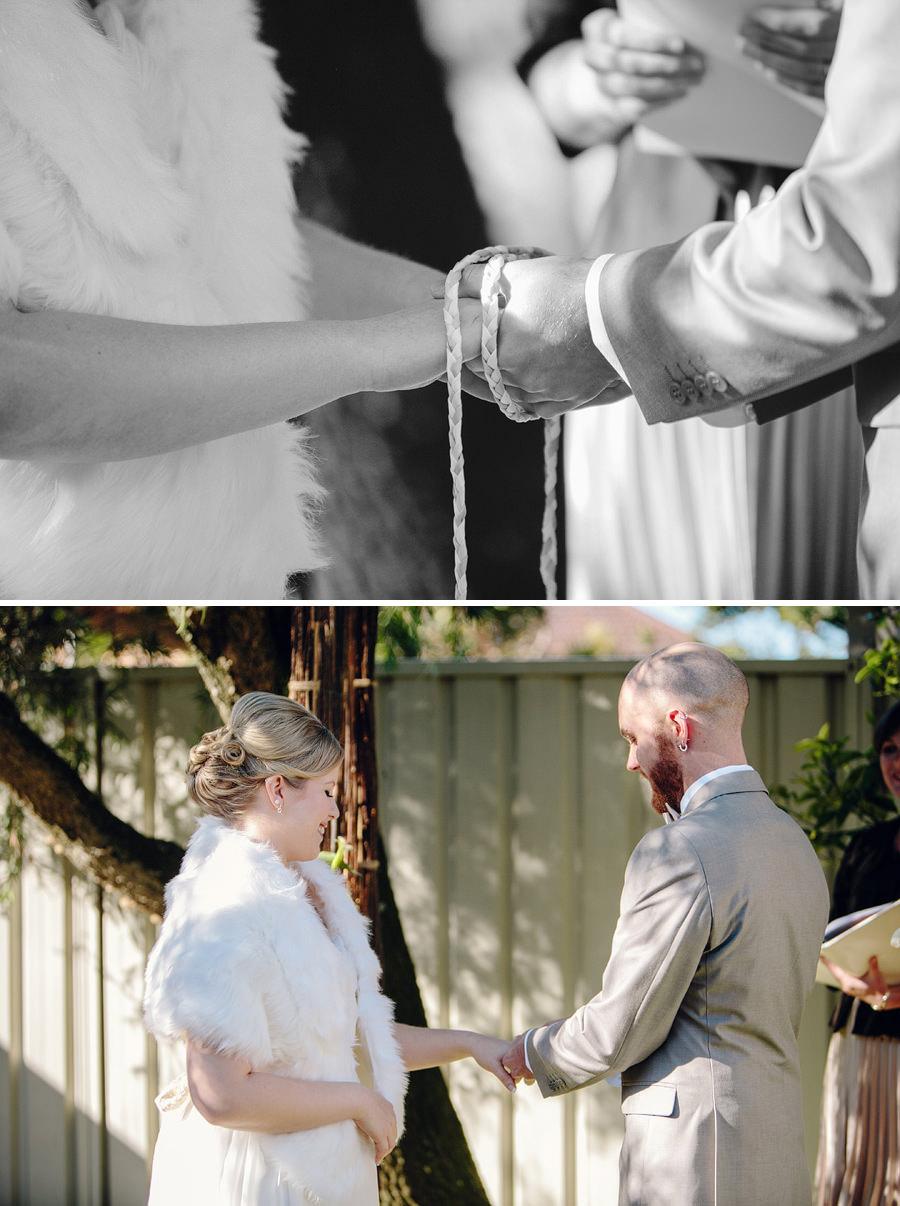 Winter Wedding Photographer: Ceremony