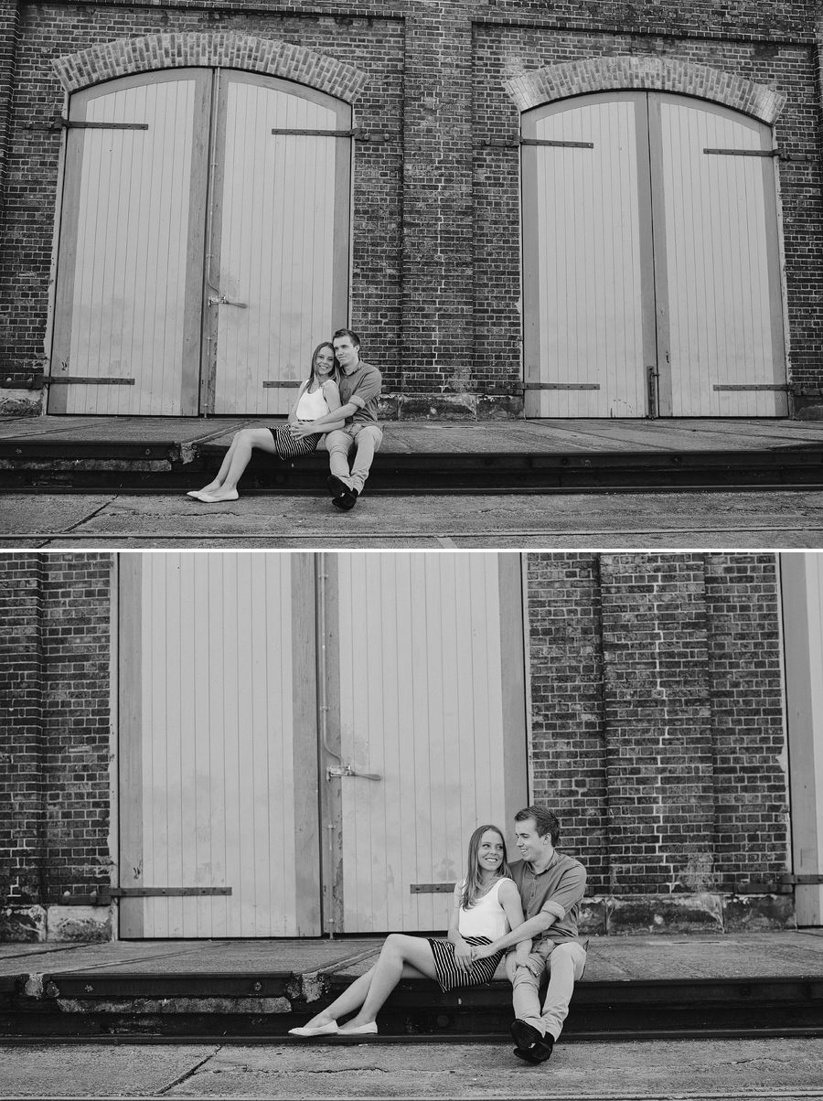 Carriageworks Engagement Photographers: Kristyn & Shaun