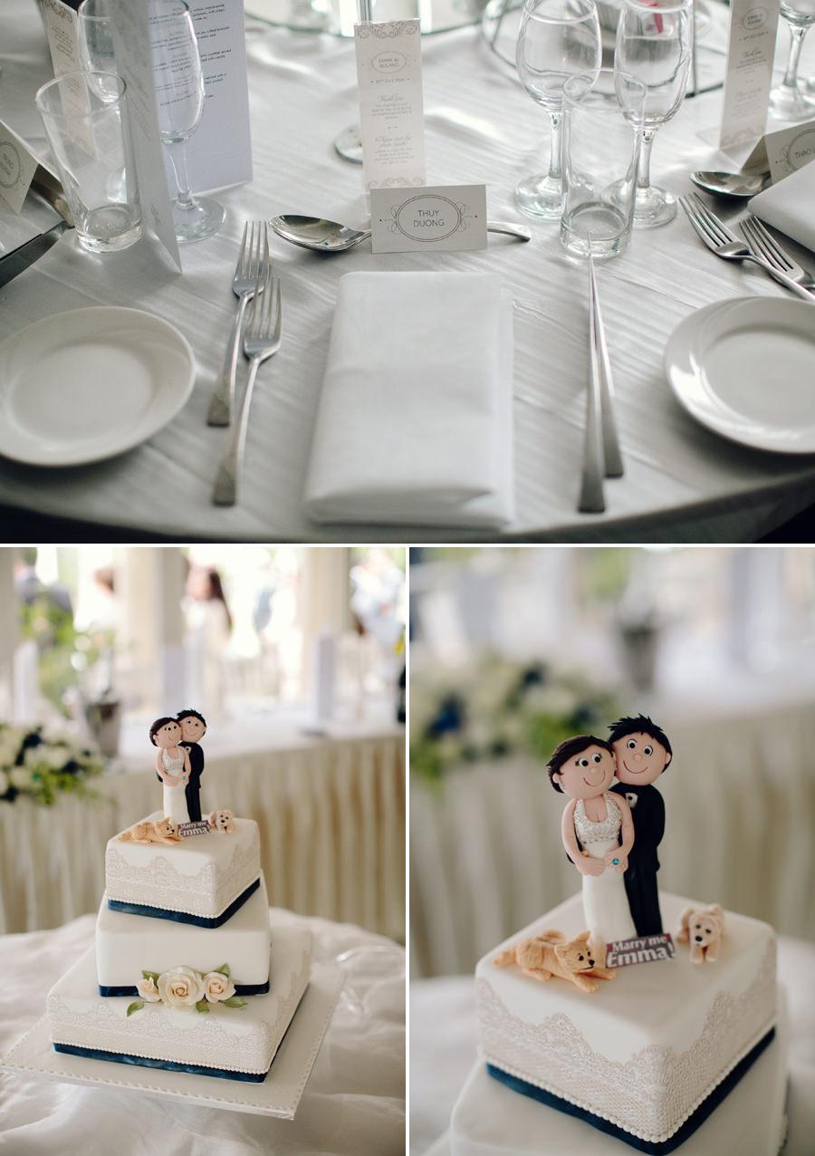 Garden Ballroom Wedding Photographers: Reception Details