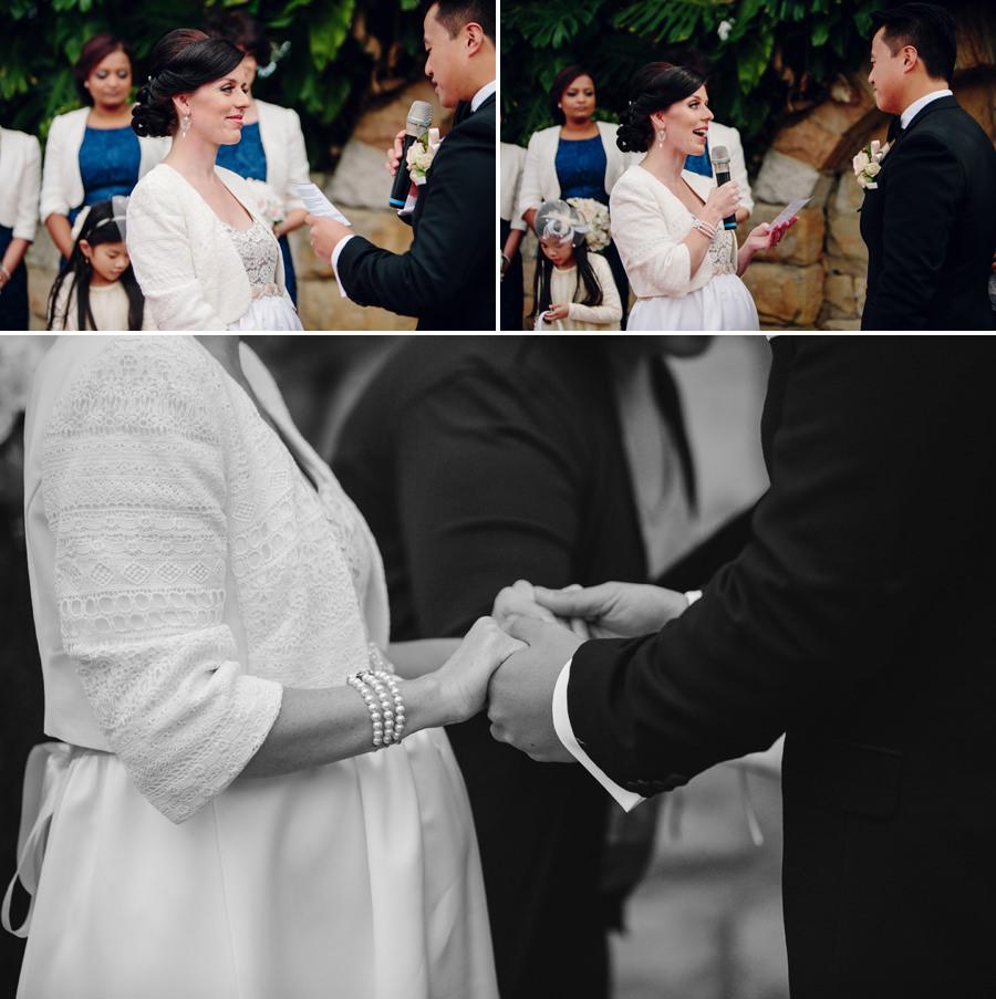 Garden Wedding Photographer: Ceremony