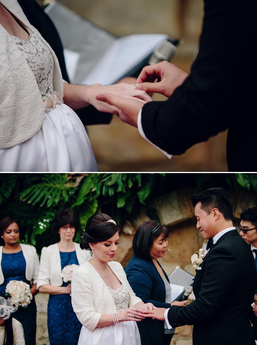 Garden Wedding Photographers: Ceremony