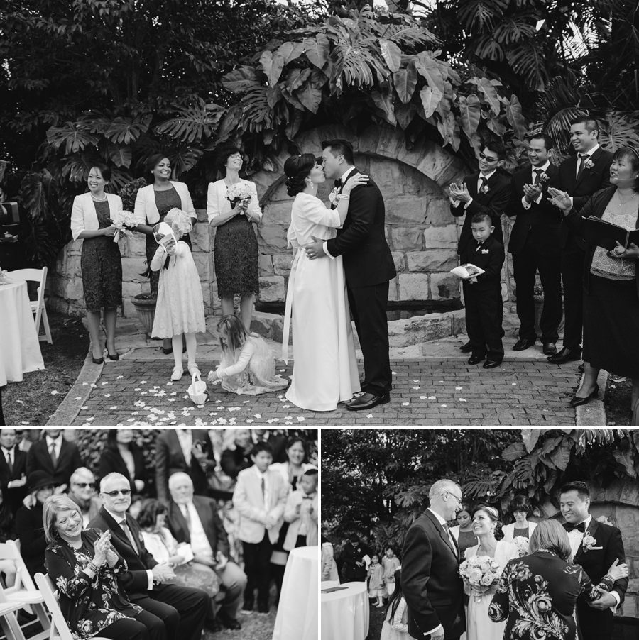 Garden Wedding Photography: Ceremony