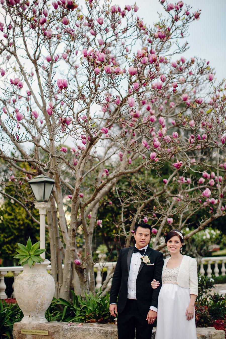 Oatlands Wedding Photographer: Bride & Groom portraits