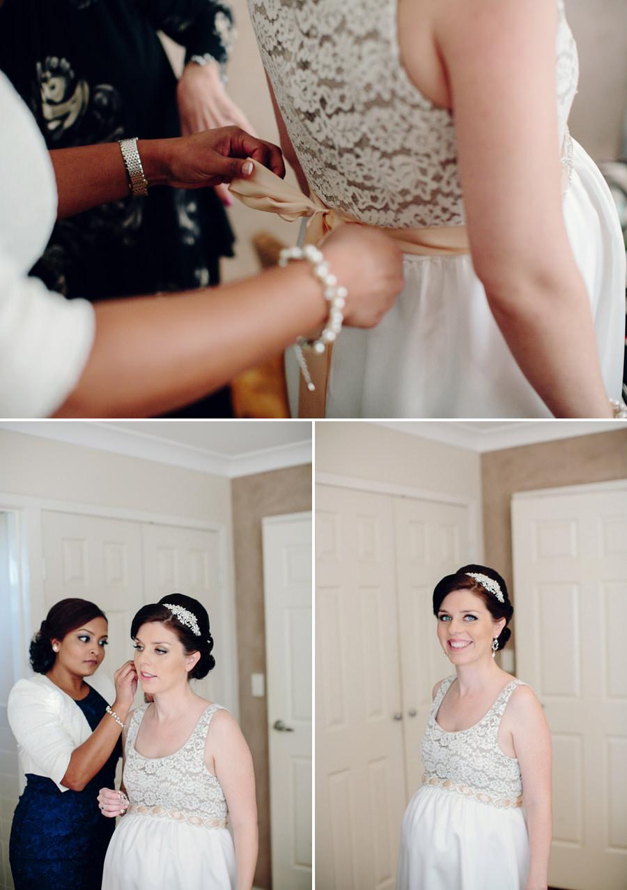 Parramatta Wedding Photographer: Bride getting ready