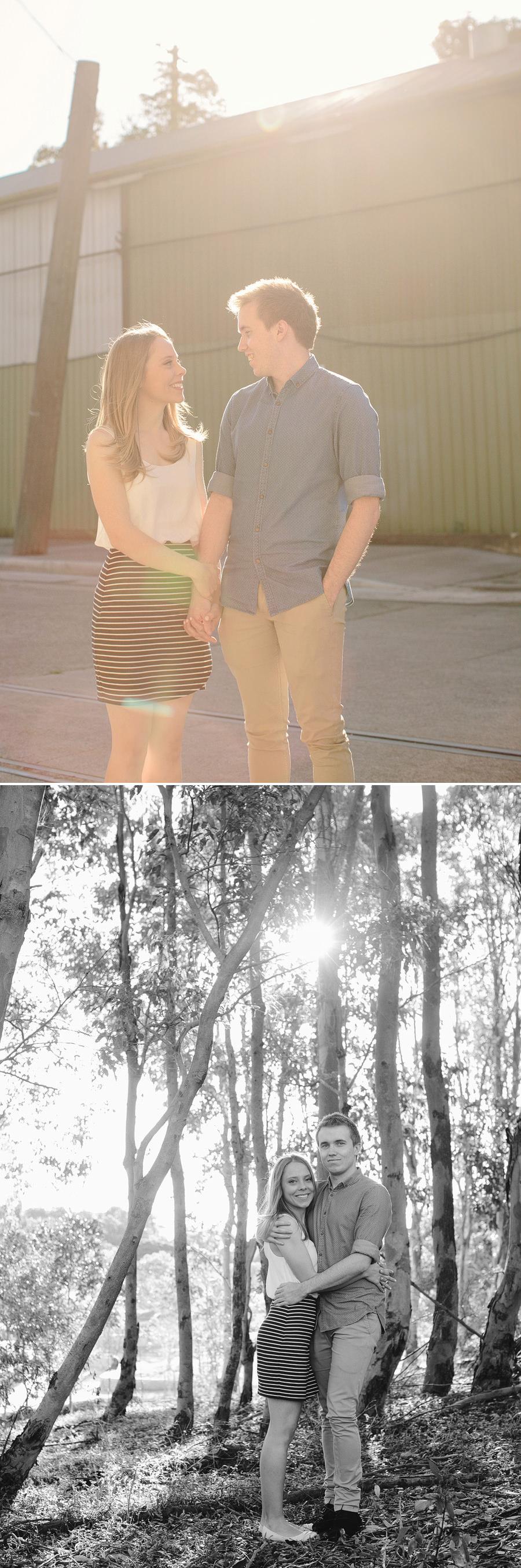 Sydney Park Engagement Photographer: Kristyn & Shaun