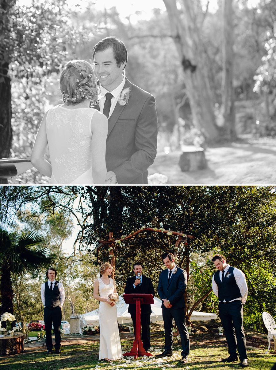 Backyard Wedding Photographer: Ceremony