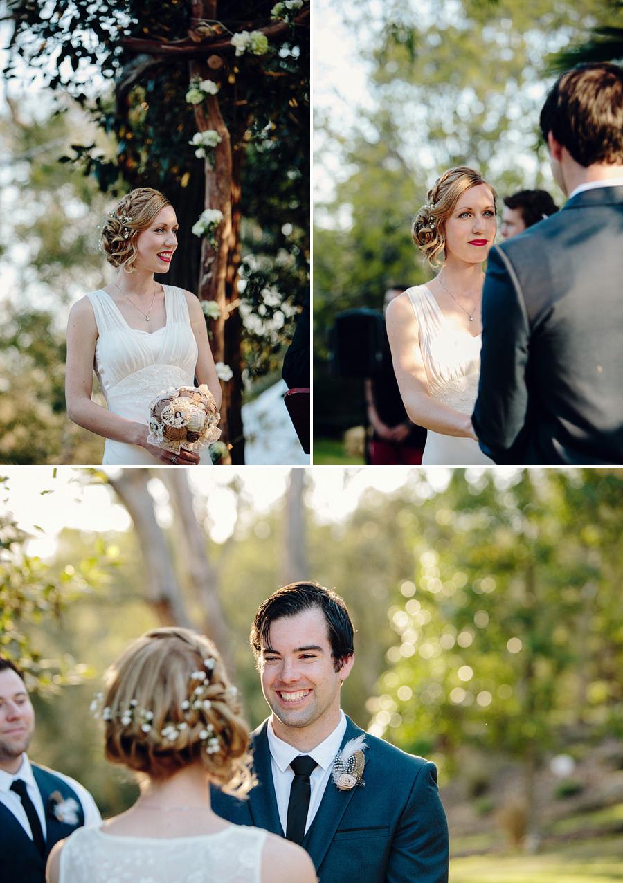 Backyard Wedding Photographers: Ceremony