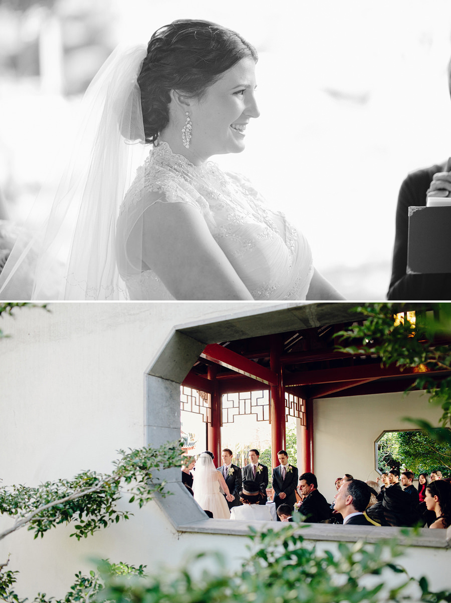 Chinese Garden Wedding Photographer: Ceremony