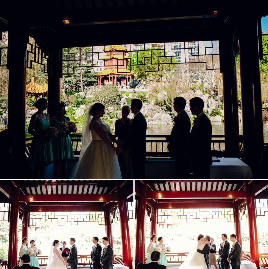 Chinese Garden Wedding Photographers: Ceremony