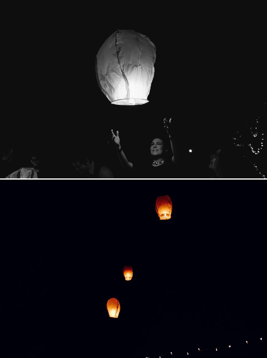Contemporary Wedding Photographer: Wishing lanterns