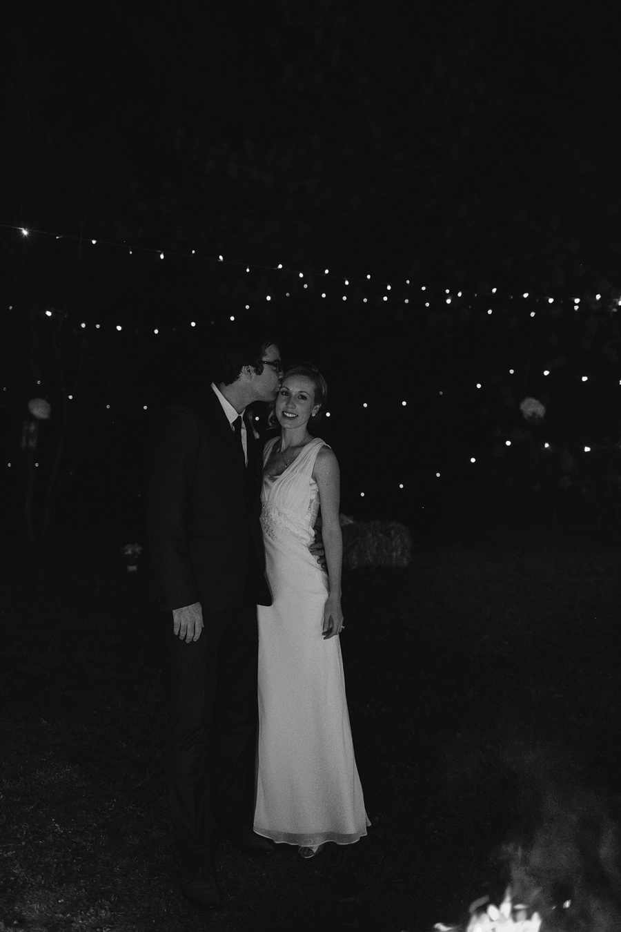 Contemporary Wedding Photographers: Night portraits