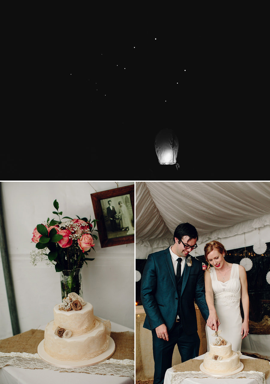 Contemporary Wedding Photography: Wishing lanterns
