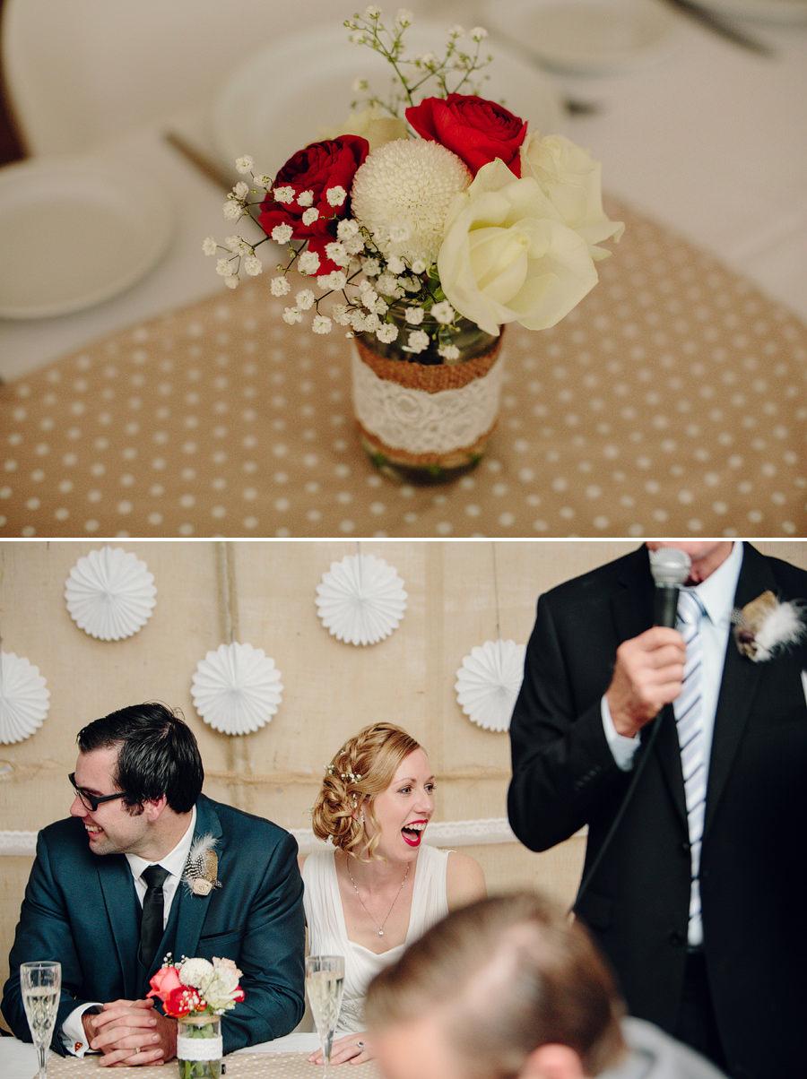 Country Wedding Photographers: Reception