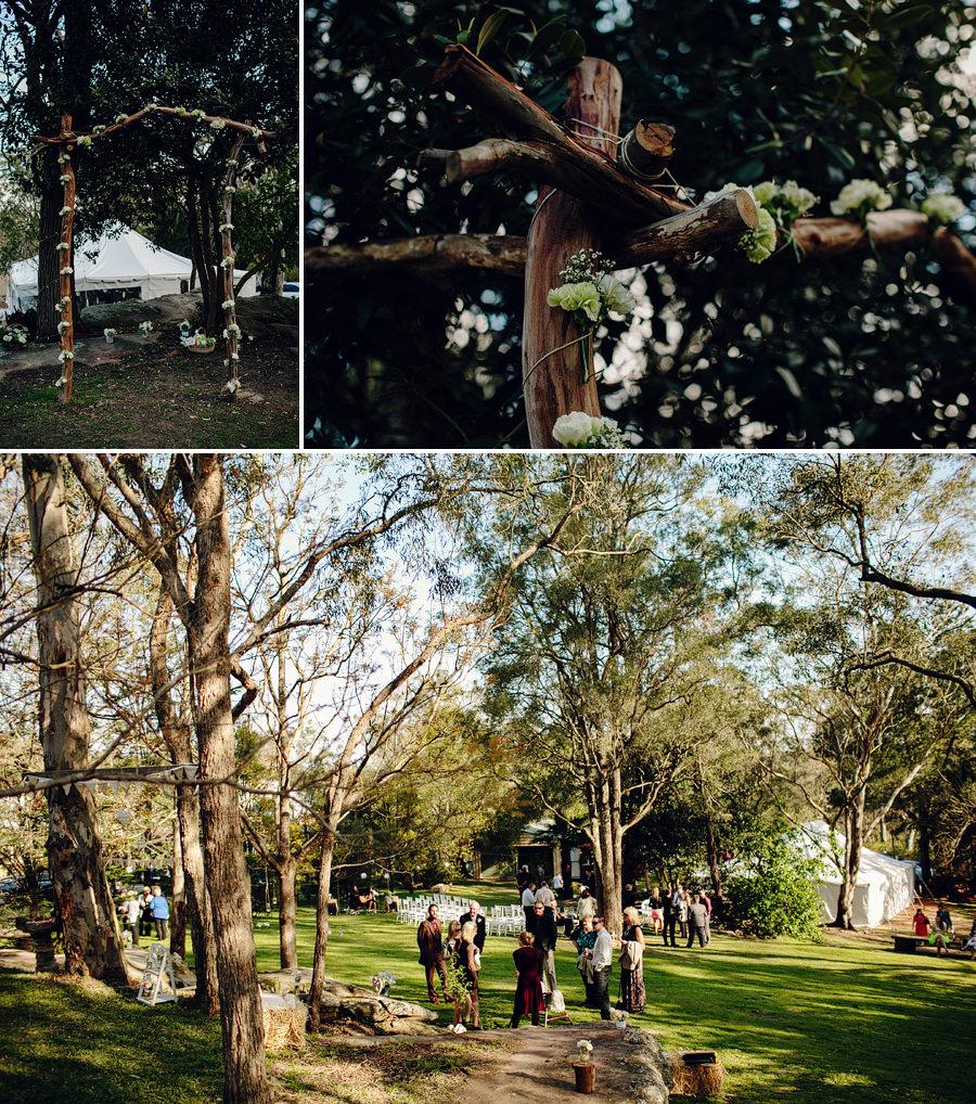 East Kurrajong Wedding Photographer: Ceremony details