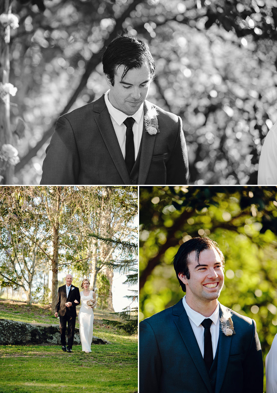 East Kurrajong Wedding Photographers: Ceremony