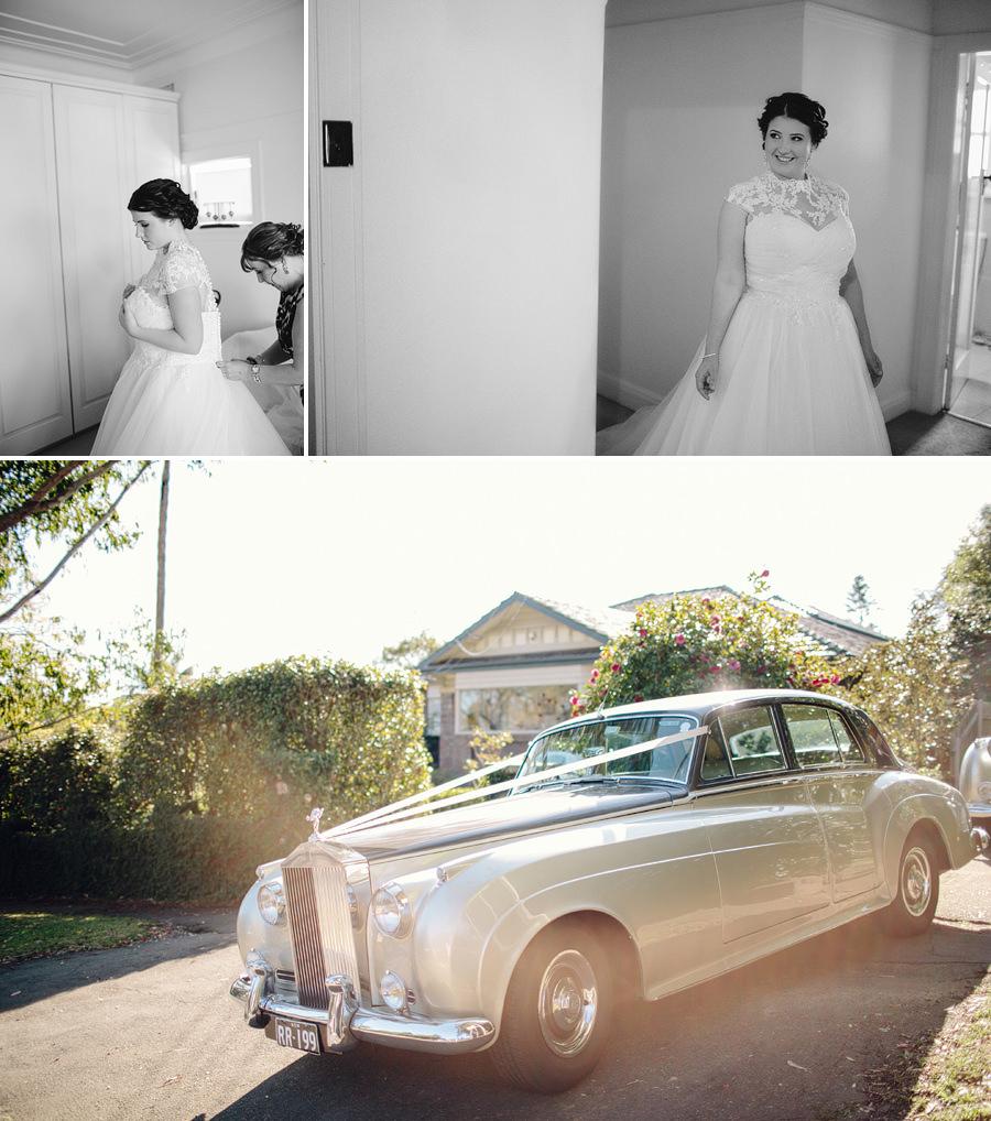 Killara Wedding Photographer: Bride getting ready