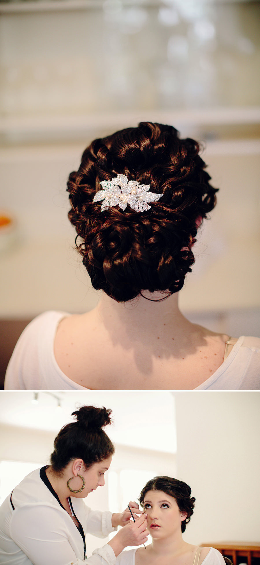 Lifdfield Wedding Photography: Hair & makeup