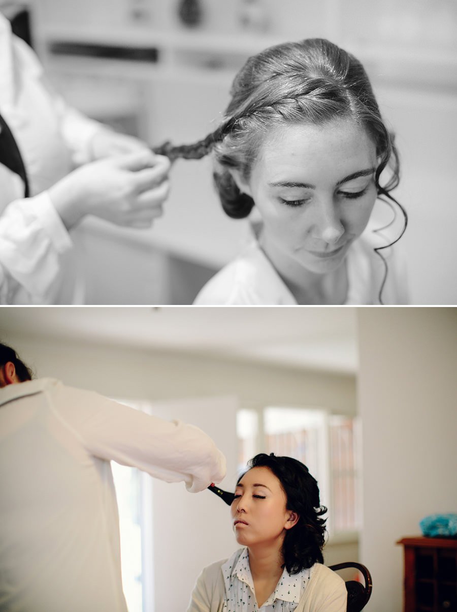 Lindfield Weddinng Photographers: Hair & makeup