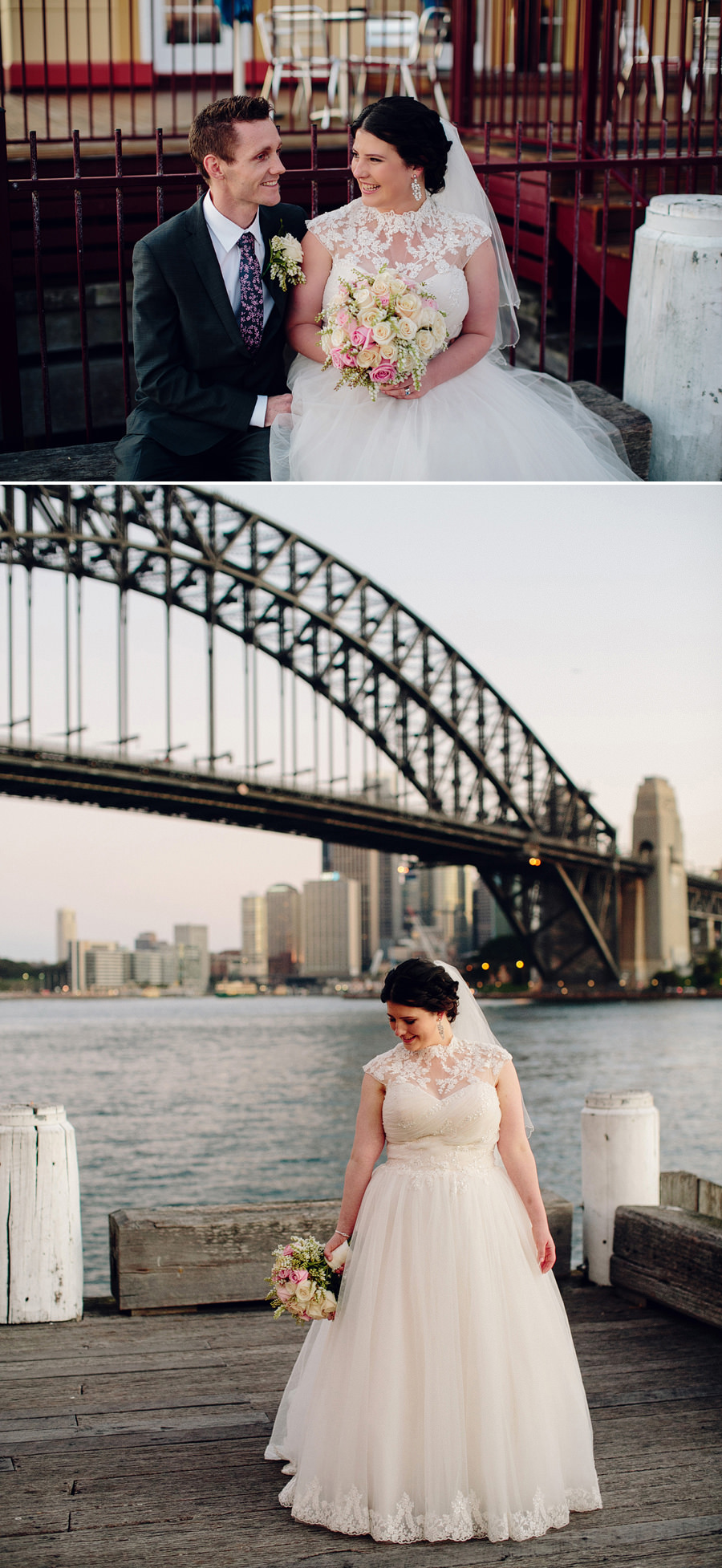 Milsons Point Wedding Photographer: Bridal party portraits