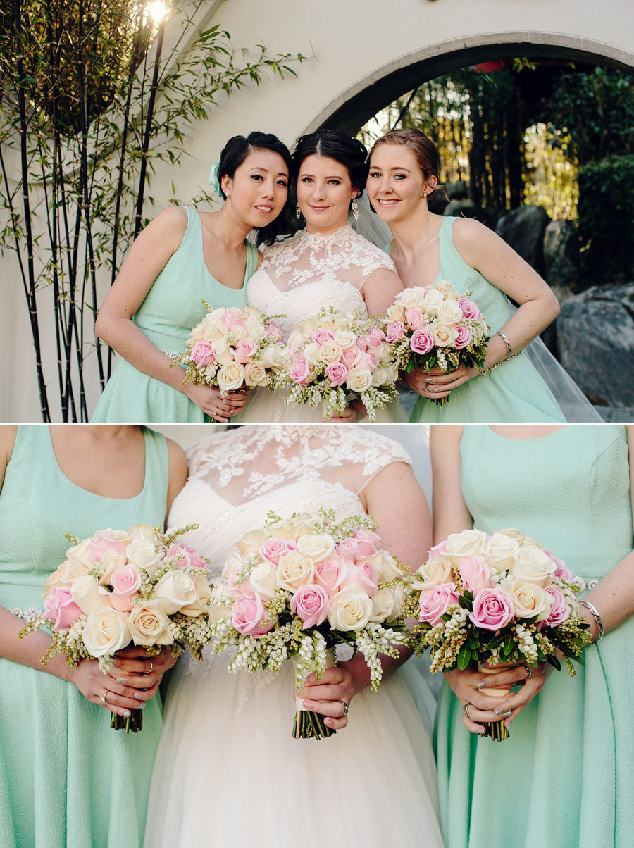 Modern Wedding Photographer: Bridal party portraits