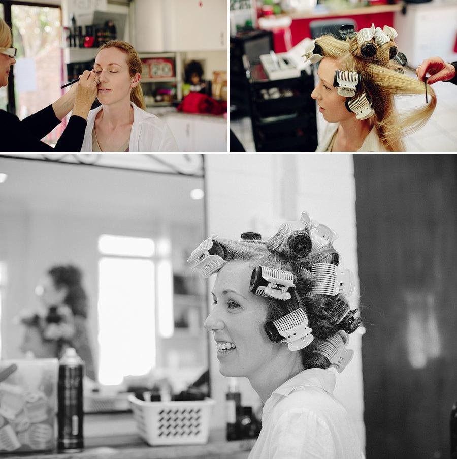 Richmond Wedding Photographers: Bride getting ready