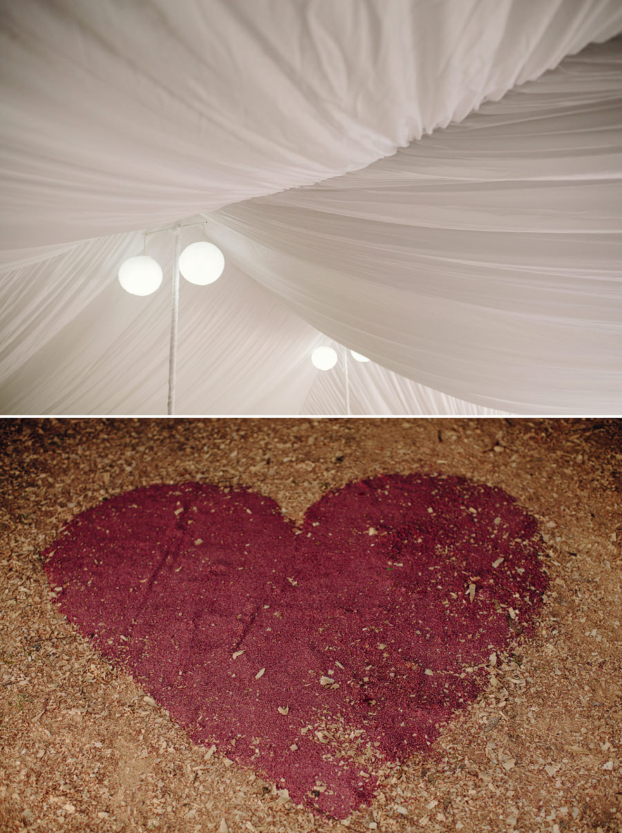 Rustic Wedding Photographer: Reception details