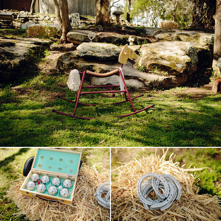Vintage Wedding Photography: Lawn Games