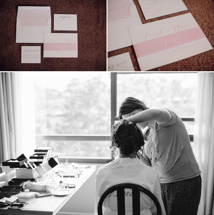 Rydges North Sydney Wedding Photographer: Invitation suite