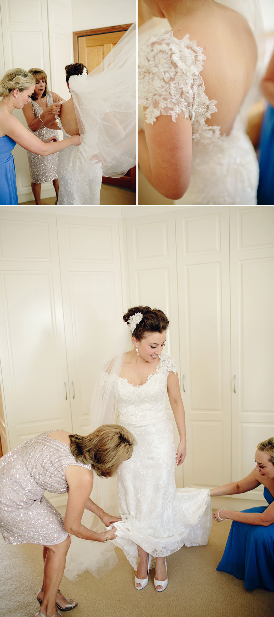 Contemporary Wedding Photographer: Girls Getting Ready