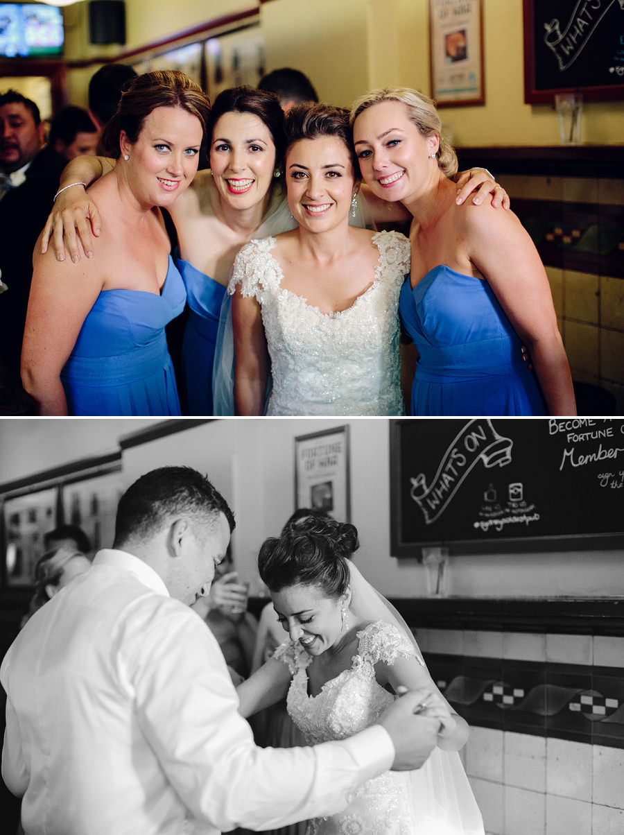 Fortune of War Wedding Photographers: Bridal Party Portraits