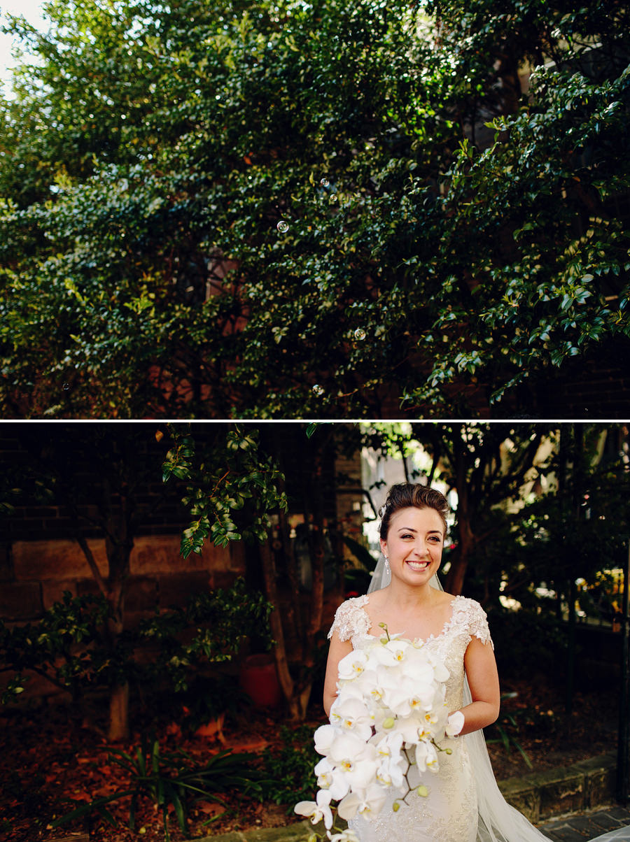 Natural Wedding Photographer: Bridal Party Portraits