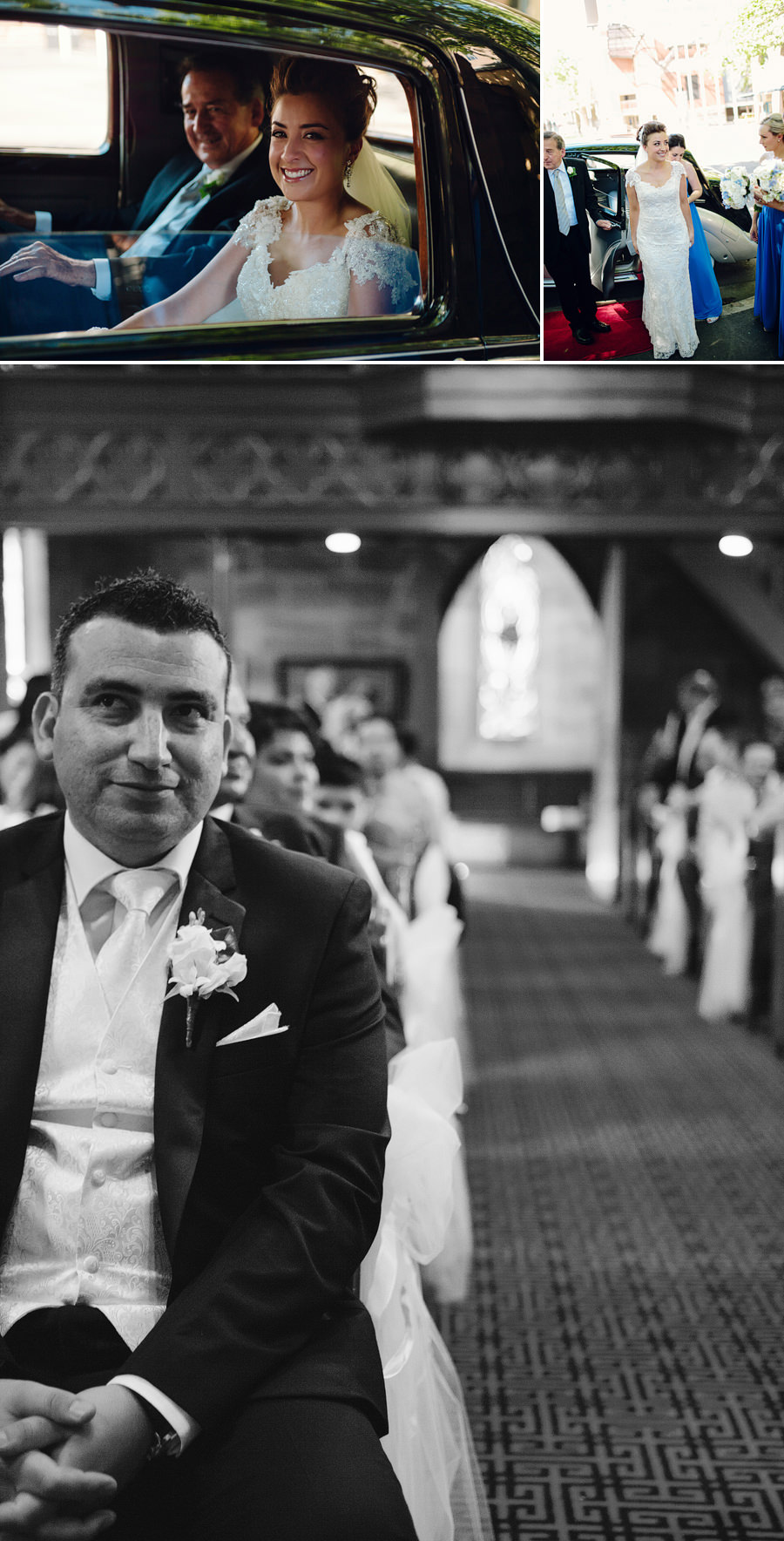 Saint Bede Church Wedding Photography: Ceremony