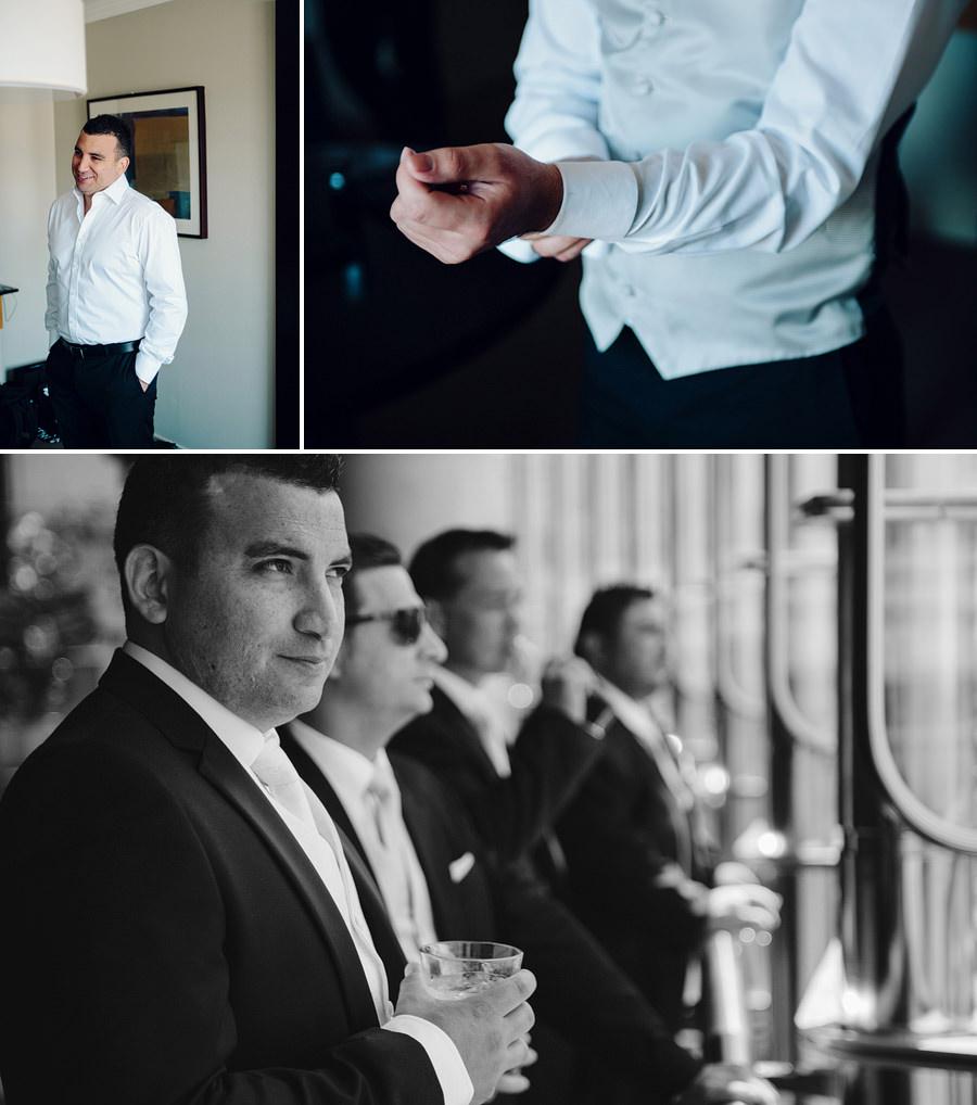 The Star Wedding Photographers: Boys Getting Ready