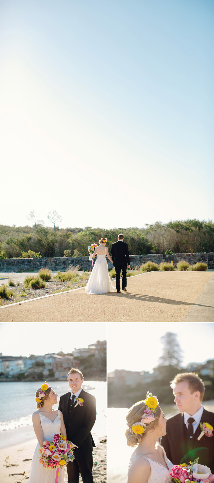 Little Manly Wedding Photographer: Bridal Party Portraits