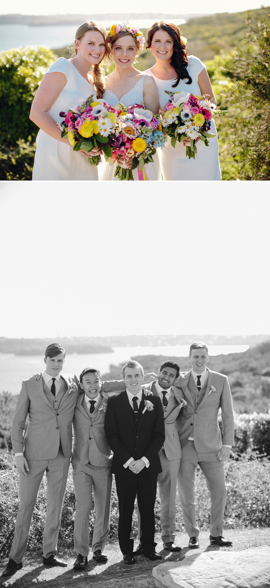 North Head Wedding Photographer: Bridal Party Portraits