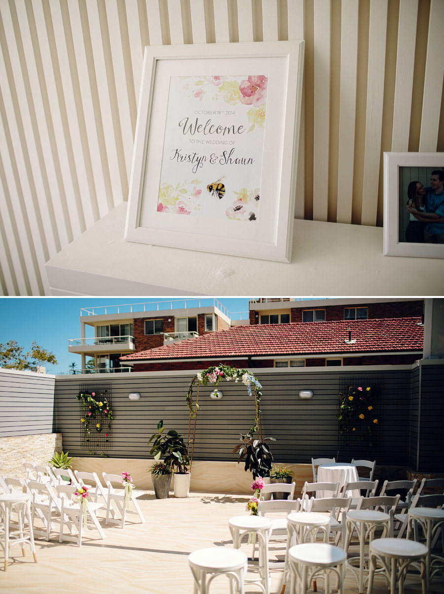 Northern Beaches Wedding Photographer: Ceremony details