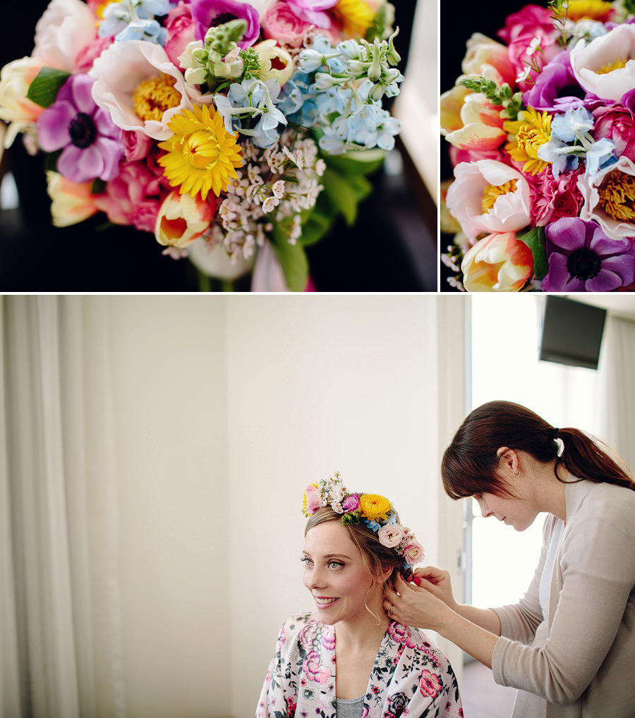 Sebel Wedding Photography: Bride getting ready