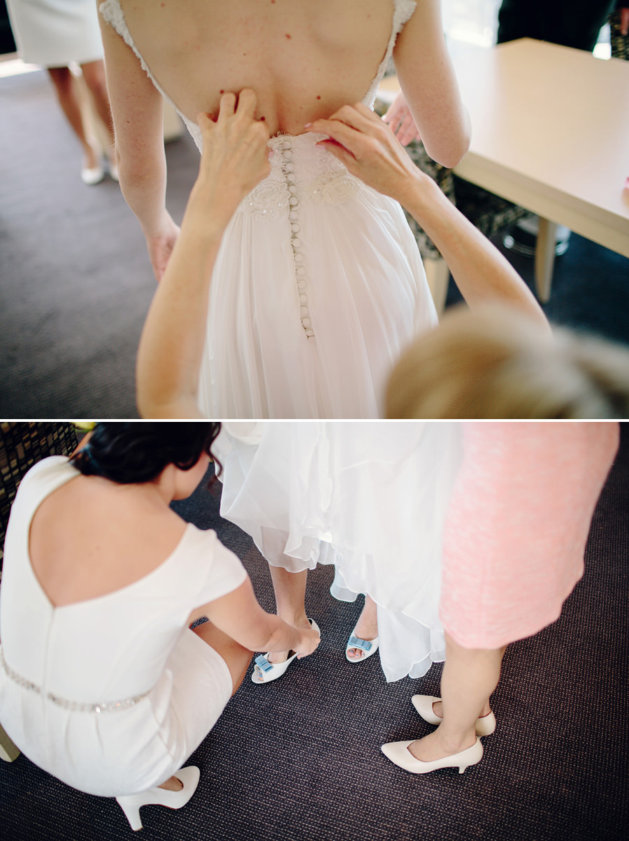 Timeless Wedding Photographers: Bride getting ready