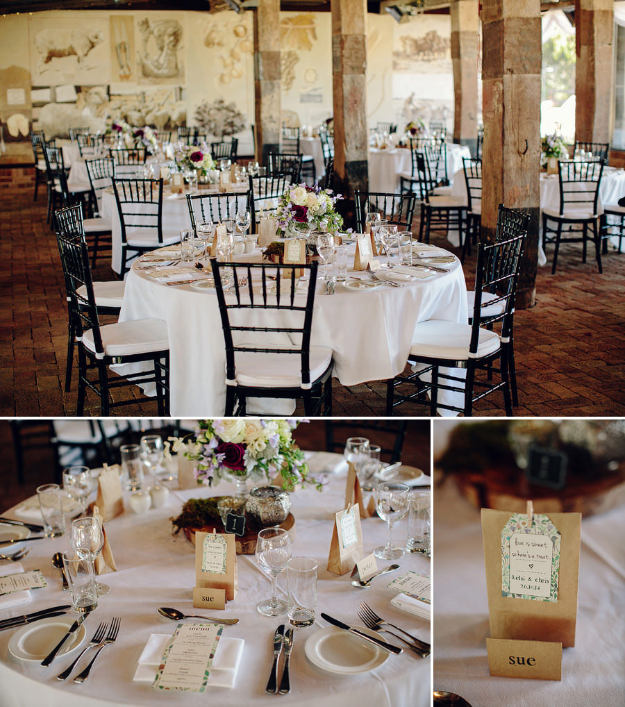 Belgenny Farm Camden Wedding Photographer: Reception Details