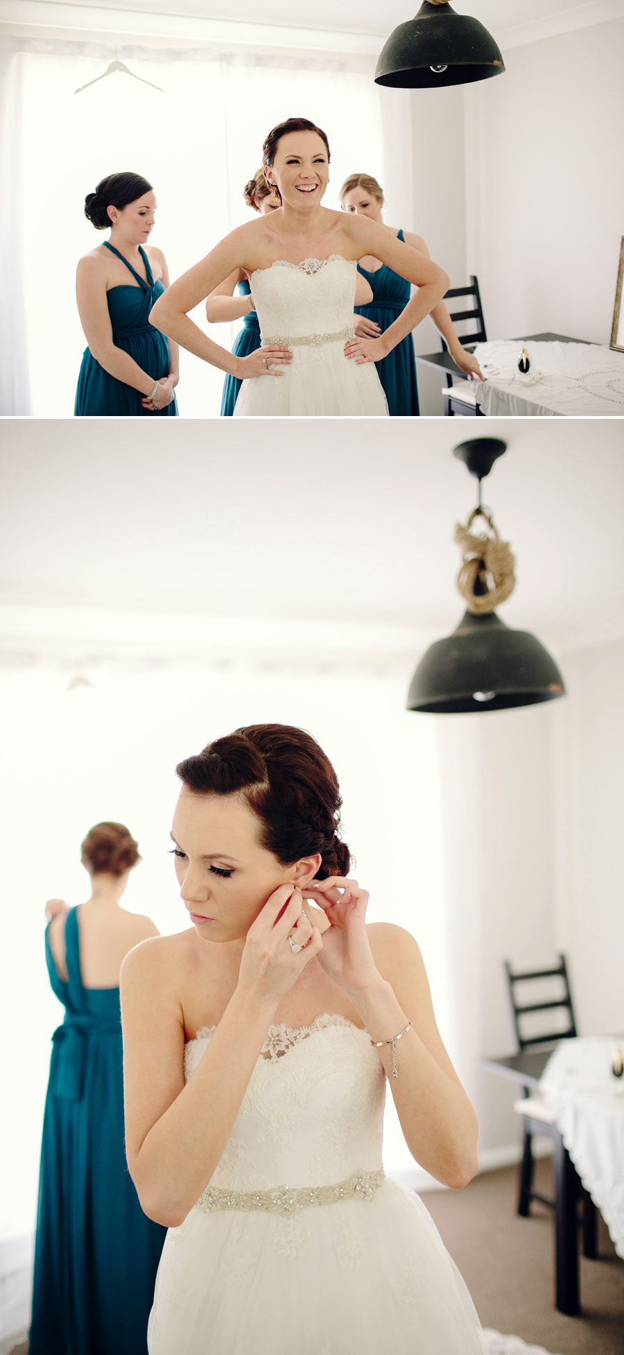 Campbelltown Wedding Photographer: Girls getting ready