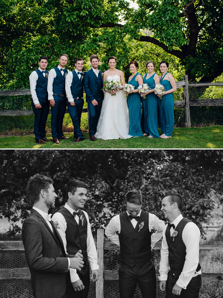 Modern Wedding Photographers: Bridal Party Portraits