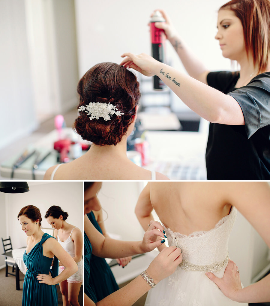 Narellan Vale Wedding Photography: Girls getting ready