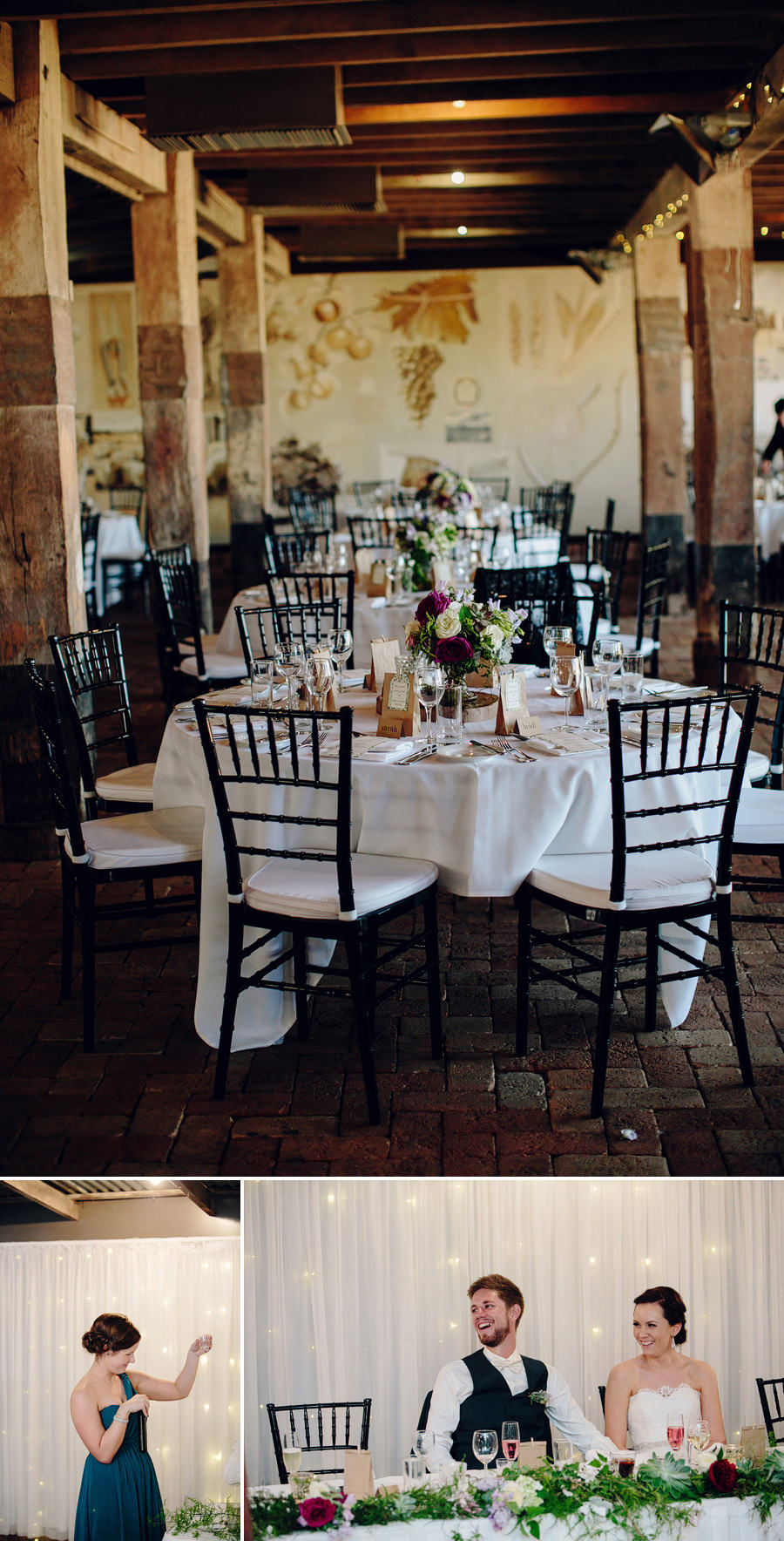 Vintage Wedding Photography: Reception Details